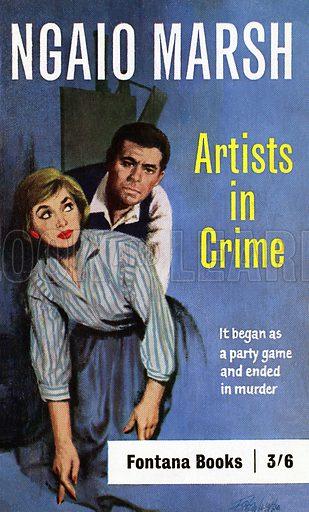 Artists in Crime by Ngaio Marsh, Fontana Books 729, 1962.