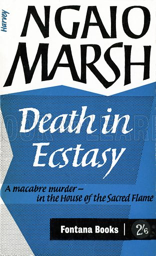 Death in Ecstasy by Ngaio Marsh, Fontana Books 759, 1962.