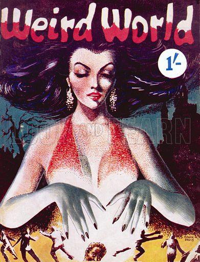 Weird World, Gannet Press, 1956.
