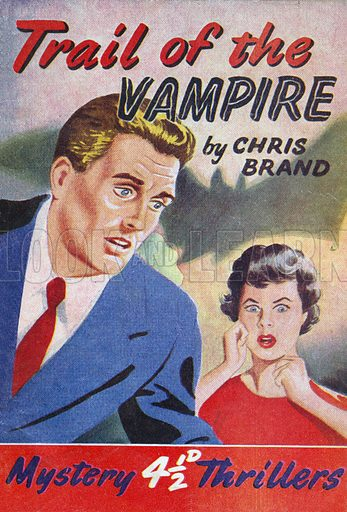Trail of the Vampire by Chris Brand, Grayling Publishing (Mystery Thrillers 3), 1949(?).