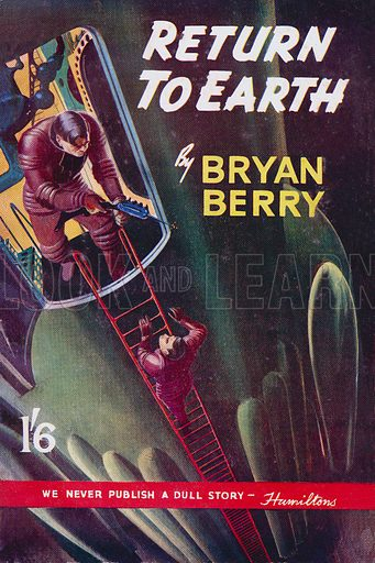 Return to Earth by Bryan Berry, Hamilton & Co 1951.