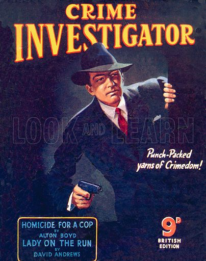 Crime Investigator, Hamilton & Co., 1949.