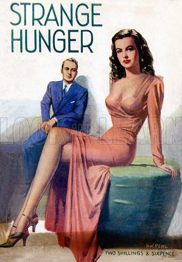 Strange Hunger by Michael Hervey, Hamilton & Co., 1946.