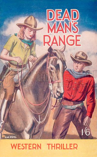 Dead Man's Range by W. R. Hutton, Hamilton & Co., 1946.