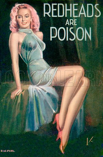 Redheads Are Poison by Bevis Winter, Hamilton & Co., 1948.