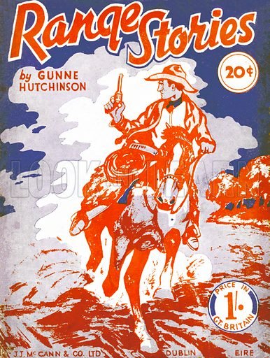 Range Stories by Gunne Hutchinson, J. J. McCann, 1946.