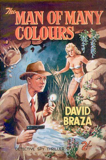 The Man of Many Colours by David Braza, Modern Fiction, 1953.