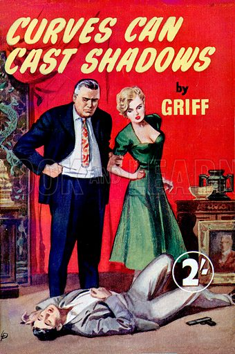 Curves Can Cast Shadows by Griff, Modern Fiction, 1953.