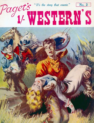 Paget's 1/- Westerns No. 2, Paget Publications, 1948.