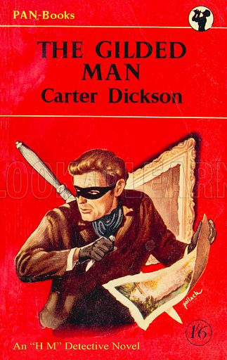 The Gilded Man by Carter Dickson, Pan Books 168, 1951.