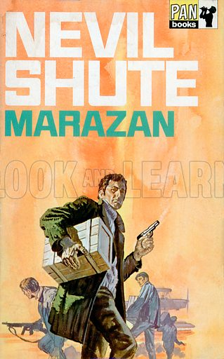 Marazan by Nevil Shute, Pan Books 10343, 5th imp., 1970.