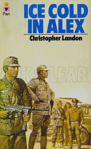 Ice Cold in Alex by Christopher Landon, Pan Books 24048, 3rd imp. 1974.