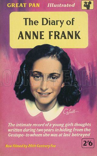 The Diary of Anne Frank by Anne Frank, Pan Books G103, 6th imp., 1958.