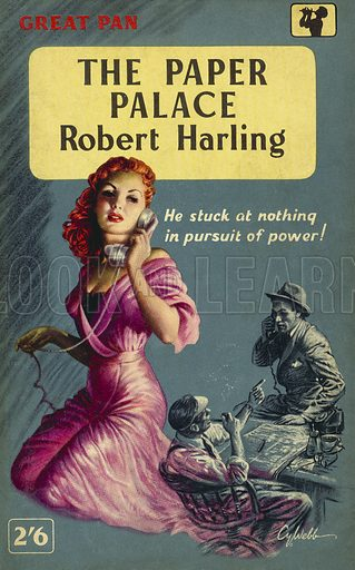 The Paper Palace by Robert Harling, Pan Books G114, 1958.