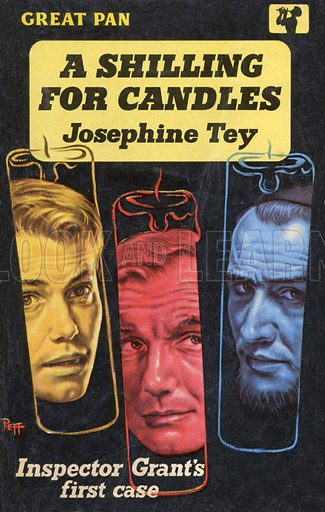 A Shilling for Candles by Josephine Tey, Pan Books G170, 1958.