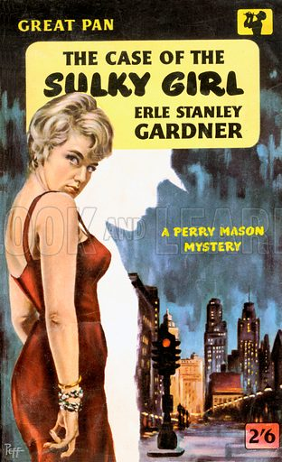 The Case of the Sulky Girl by Erle Stanley Gardner, Pan Books G264, 1959.