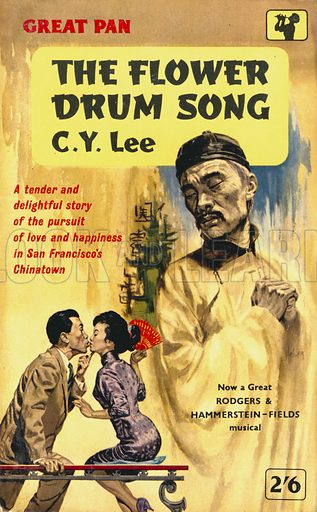 The Flower Drum Song by C. Y. Lee, Pan Books G334, 1960.