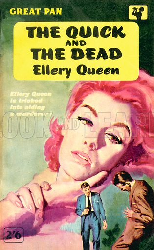 The Quick and the Dead (There Was an Old Woman) by Ellery Queen, Pan Books G431, 1961.