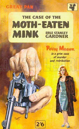 The Case of the Moth-Eaten Mink by Erle Stanley Gardner, Pan Books G464, 1961.
