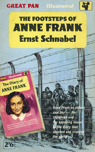The Footsteps of Anne Frank by Ernst Schnabel, Pan Books G494, 1961.
