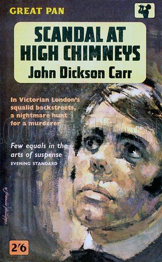 Scandal at High Chimneys by John Dickson Carr, Pan Book G537, 1962.