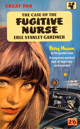 The Case of the Fugitive Nurse by Erle Stanley Gardner.