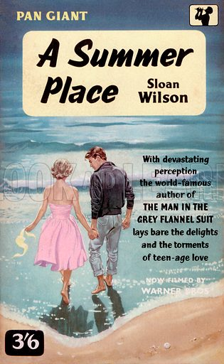 A Summer Place by Sloan Wilson, Pan Books X48, 1960. Movie tie-in edition.