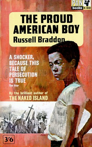The Proud American Boy by Russell Braddon, Pan Books X180, 1963.