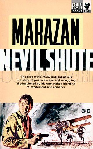 Marazan by Nevil Shute, Pan Books X343, 1964.