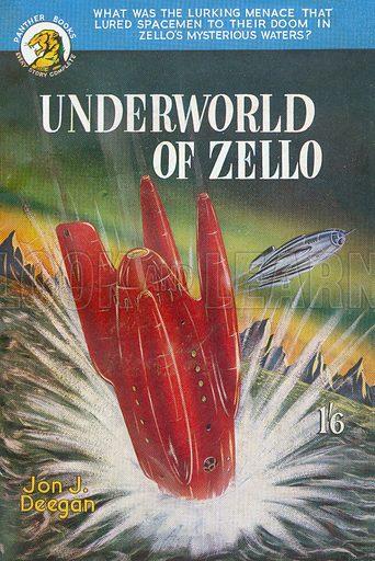 Underworld of Zello by Jon J. Deegan, Panther Books 17, 1952.
