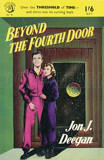 Beyond the Fourth Door by John Falkner, Panther Books 96, 1954.