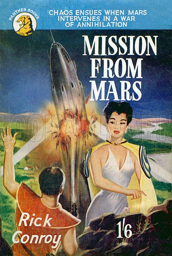 Mission from Mars by Rick Conroy, Panther Books nn, 1952.