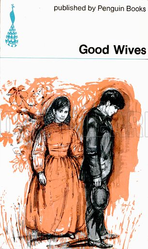 Good Wives by Louisa M. Alcott, Peacock Books PK54, 1965. Rear cover.