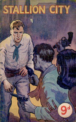 Stallion City by N. Wesley Firth, Scion Ltd., 1949(?).