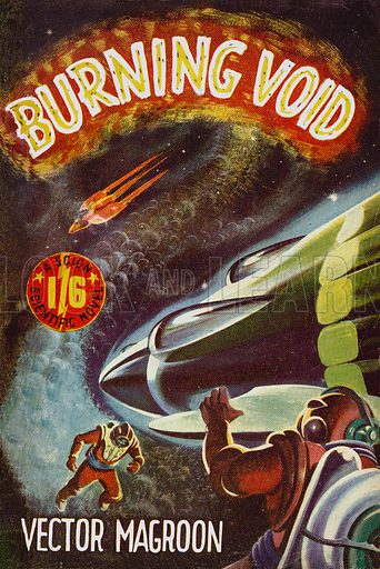 Burning Void by Vector Magroon, Scion Ltd., 1952.