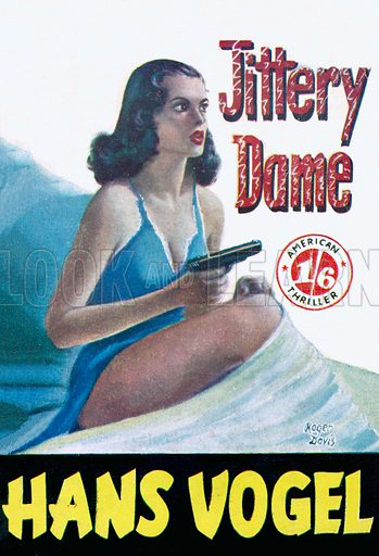 Jittery Dame by Hans Vogel, Scion Ltd., 1953.