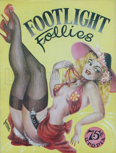 Footlight Follies, Utopian Publications, 1949.