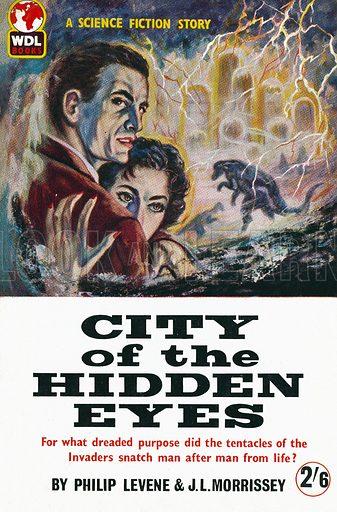 City of the Hidden Eyes by Philip Levene & J. L. Morrissey, World Distributors 973, 1960, Novelisation of the radio serial.