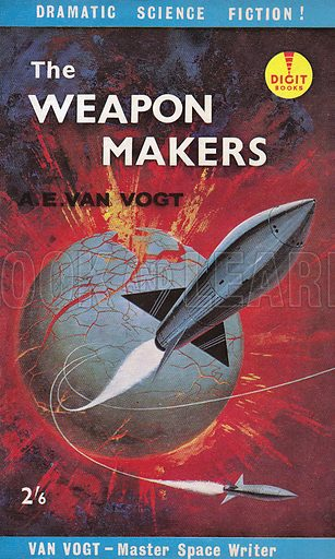 The Weapon makers by AE Van Vogt, Digit Books R454, 1961.