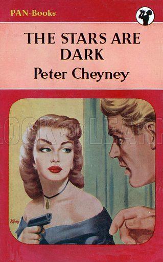 The Stars Are Dark by Peter Cheyney, Pan Books 40, 1952.