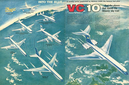 Into the Blue: VC 10, Pride of BOAC. From Ranger no.1.