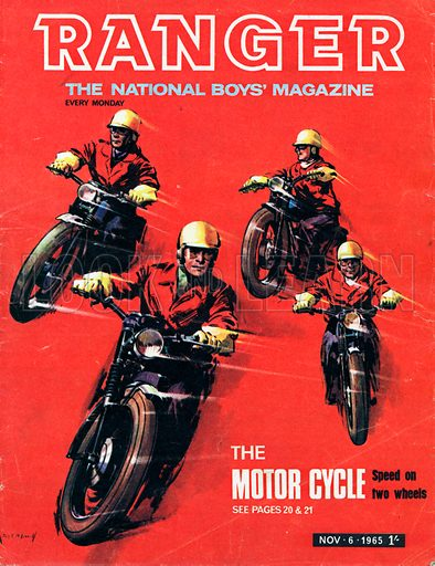 Ranger Covers from the 1960s