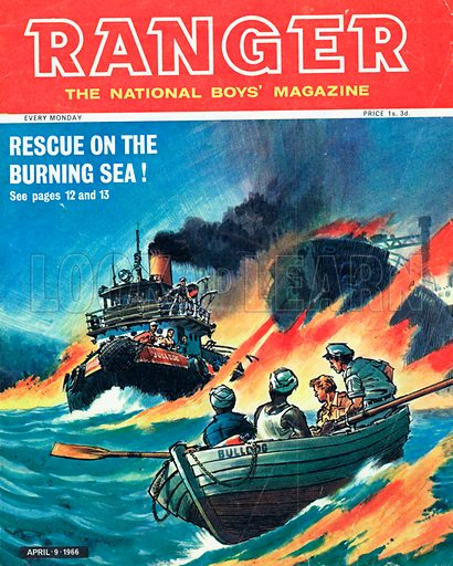 Rescue of the Burning Sea!