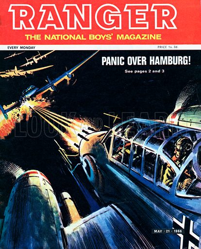 Panic over Hamburg.
