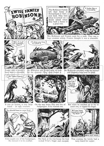 Swiss Family Robinson - Look and Learn History Picture Library