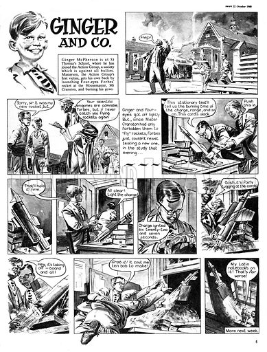 Ginger and Co. From Swift (22 October 1960).