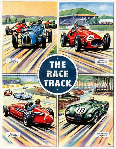 The Race Track.