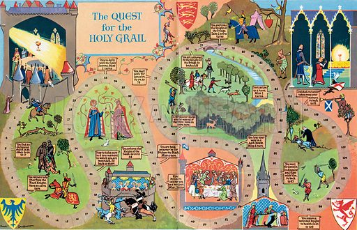 The Quest for the Holy Grail (game).