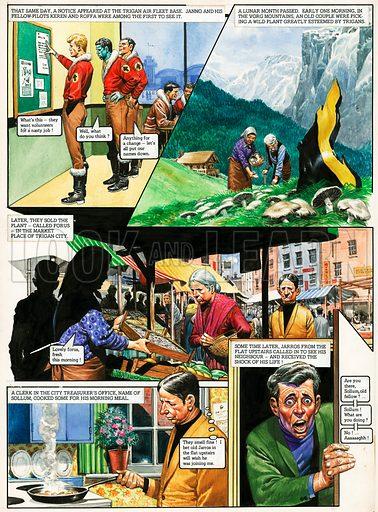 The Trigan Empire | Albion British Comics Database Wiki ...