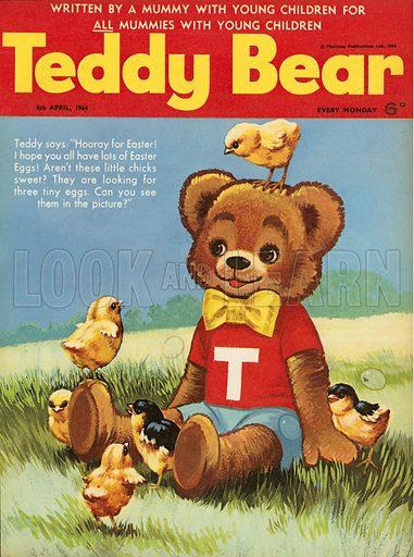 Teddy Bear magazine cover.
